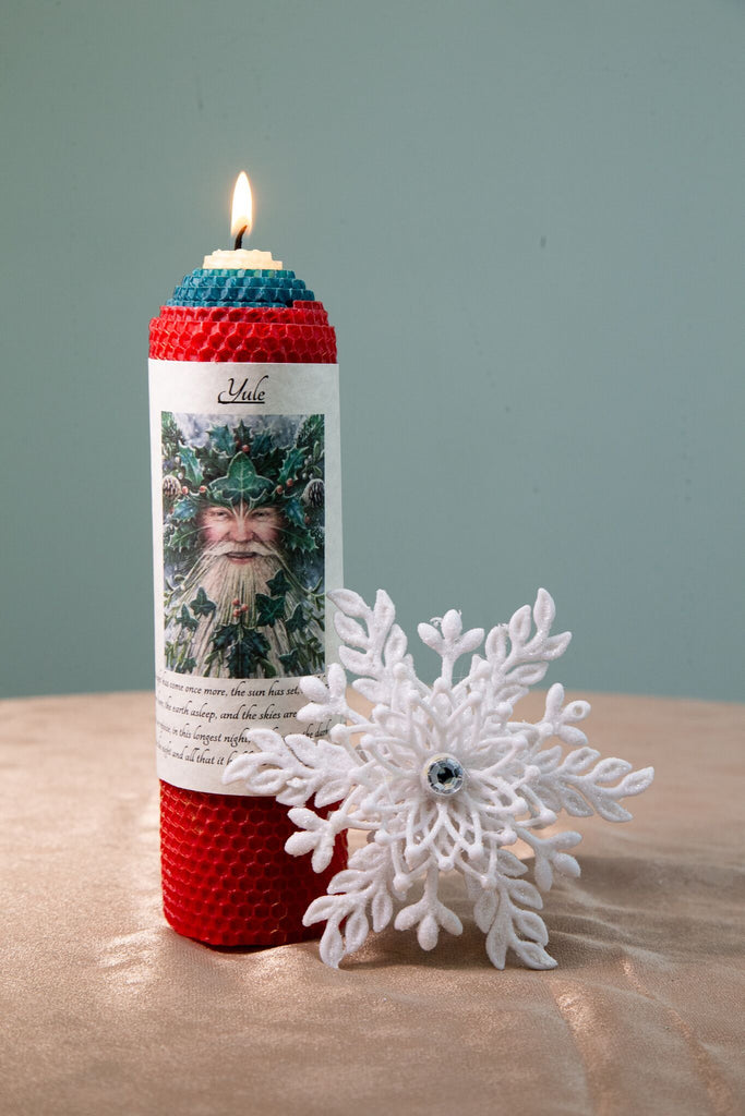 Yule Candle - The Crystal Cavern