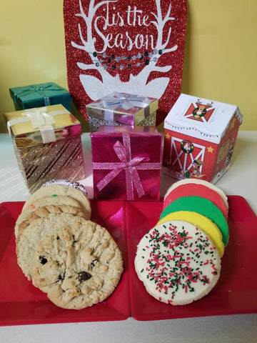 Mini-Goodie Holiday Cookie Box