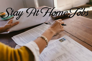 10 STAY AT HOME JOBS