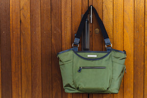 THE BELLEVUE: WOMEN'S NYLON LAPTOP HANDBAGS
