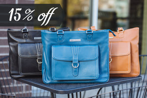 BACK TO SCHOOL SAVINGS ON LAPTOP HANDBAGS