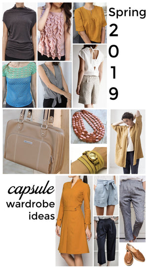 THE PERFECT CAPSULE WARDROBE: NEW IDEAS FOR SPRING 2019
