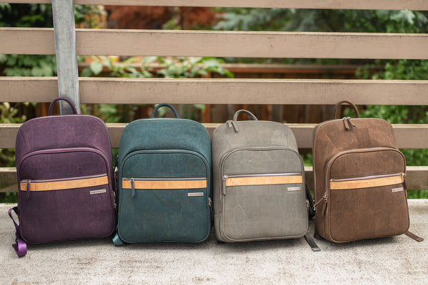 cork laptop backpacks