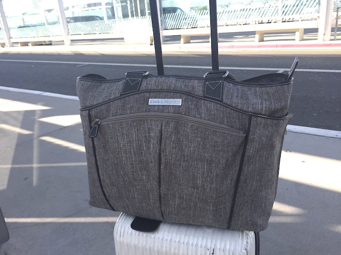 carry on bag in airport