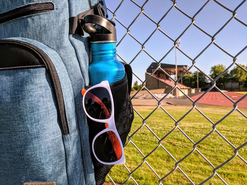 Water bottle holder - Best backpacks for college students with laptops