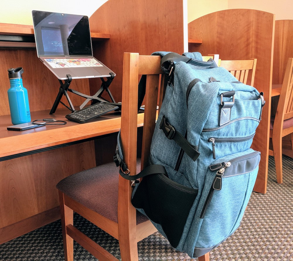 Remote work backpack desk - Best backpacks for college students with laptops