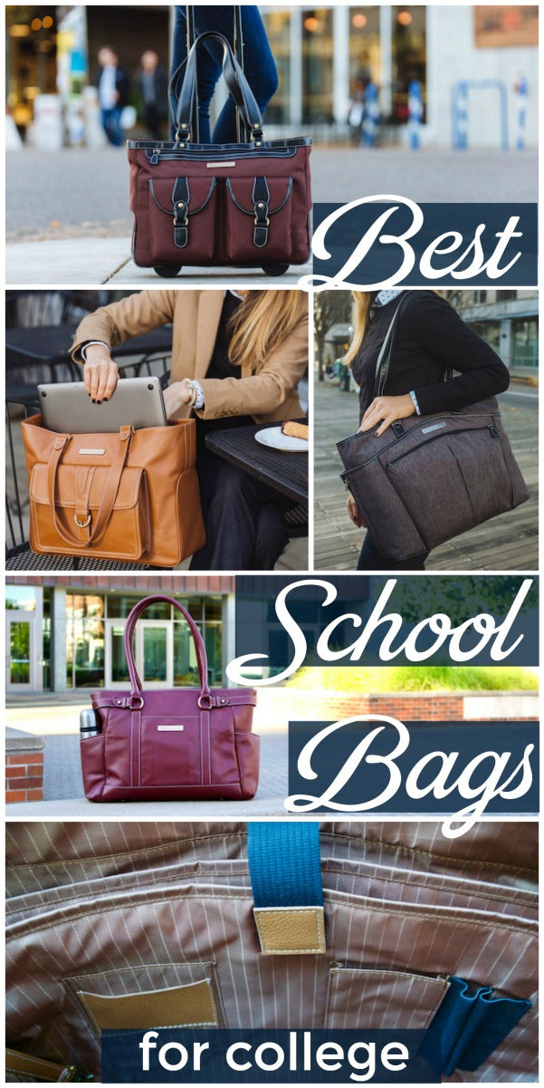 Best school bags for college students - laptop handbags and backpacks