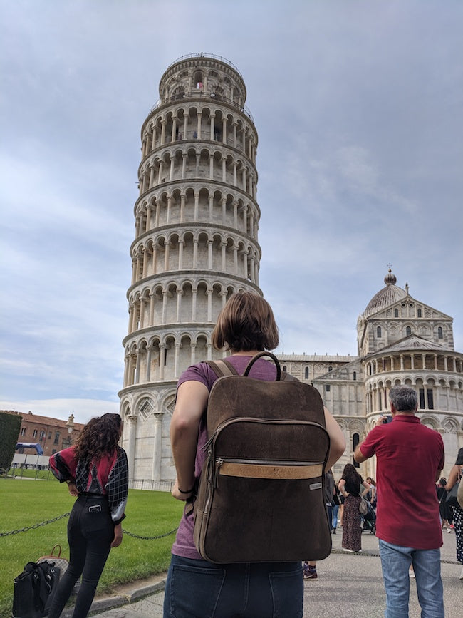 Where's My Bag Pisa Italy - tower