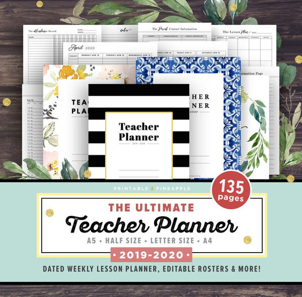 teacher planner pack