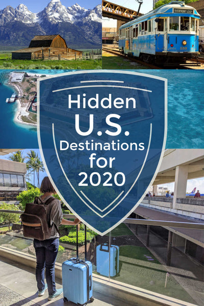 Hidden U.S. travel destinations for 2020 - best under-rated places to visit in the USA this year