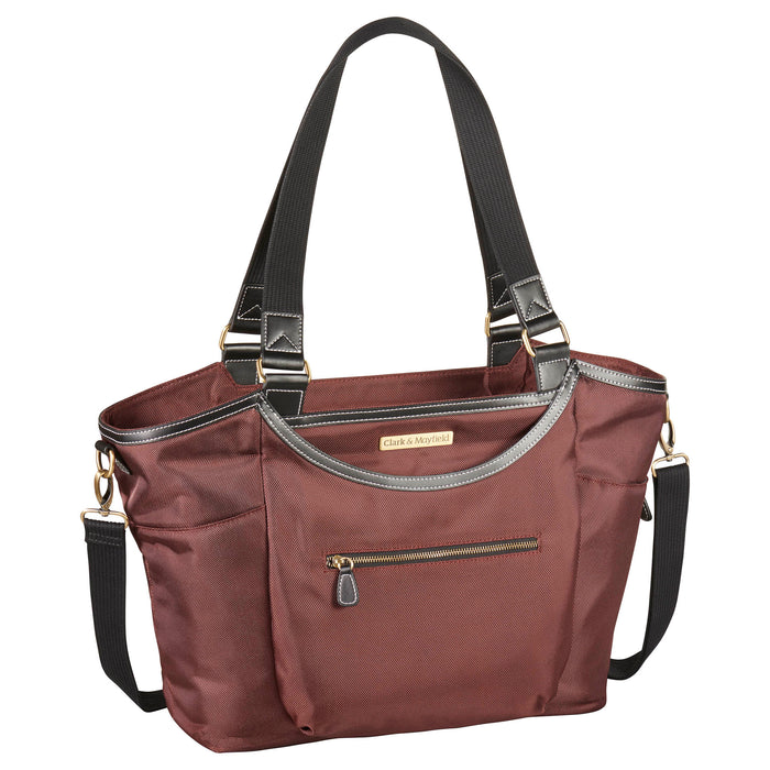 "18.4"" Bellevue Laptop Bag - Bordeaux Brown"
