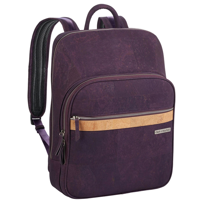 Corbett Cork Backpack 15 - Plum