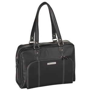 "17"" Morrison Laptop Handbag - Black"