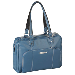 "17"" Morrison Laptop Handbag - Deep Teal"