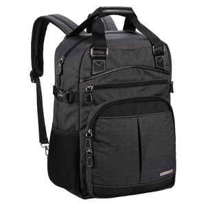 Reed Backpack 17 - Charcoal