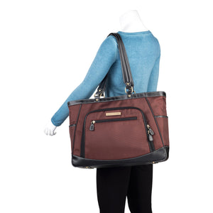 "17.3"" Sellwood Metro XL Handbag - Bordeaux Brown"