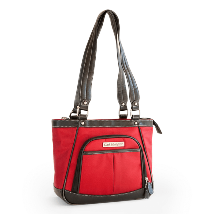 "11"" Sellwood Metro Mini Handbag - Red"