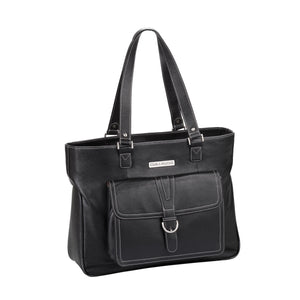 "17.3"" Stafford Pro Leather Handbag - Black"