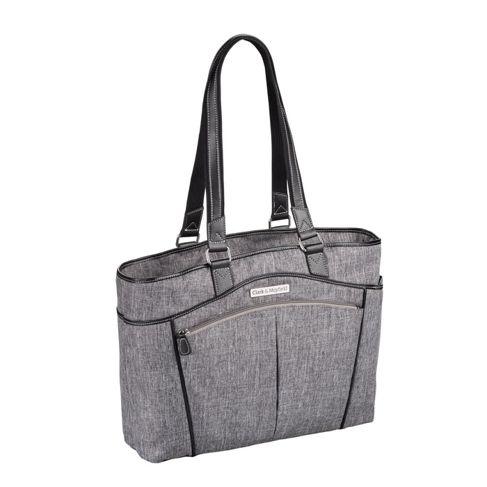 "17.3"" Reed Laptop Handbag - Slate Gray"