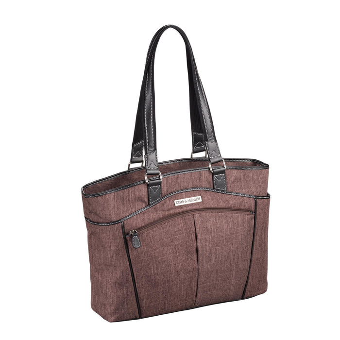 "17.3"" Reed Laptop Handbag - Copper Brown"