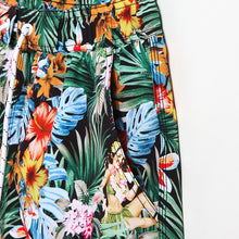 Gailang Hawaiian Flower Print Board Shorts