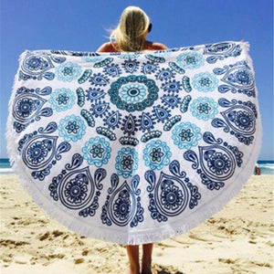 Beach Blue Full Body Cover Up