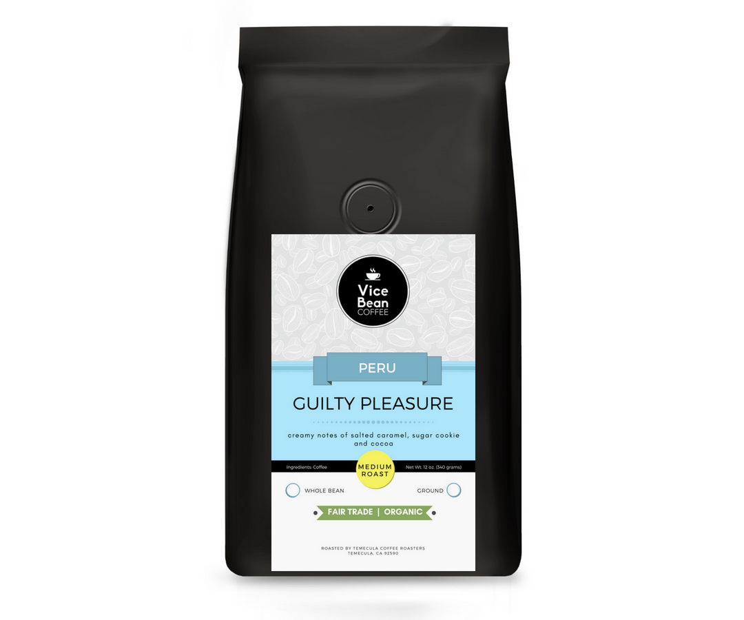 Guilty Pleasure Coffee (Fair Trade, Organic)