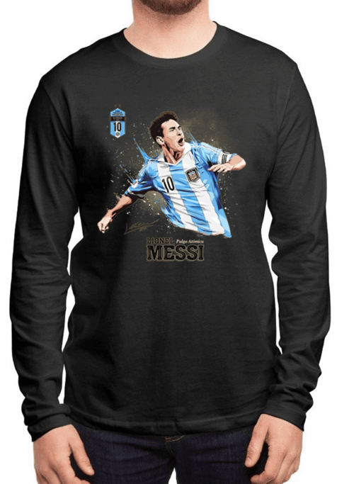 f05911eaa84 ... Messi Full Sleeves T-shirt - Remain Humble and Innovate ...