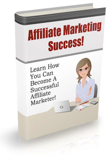 Affiliate Marketing Success Informaton & Tips How To Make Money Marketing 26Pag