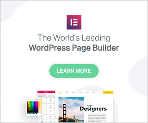 Elementor : The Best  Wordpress Pagebuilder for All, Landingpages, Eshops, Normal Pages