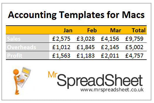 Accounting Spreadsheets for Mac Users