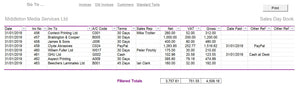 Invoice Template with pdf and printed output ...