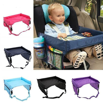 Baby and Toddler Car Waterproof Table Tray