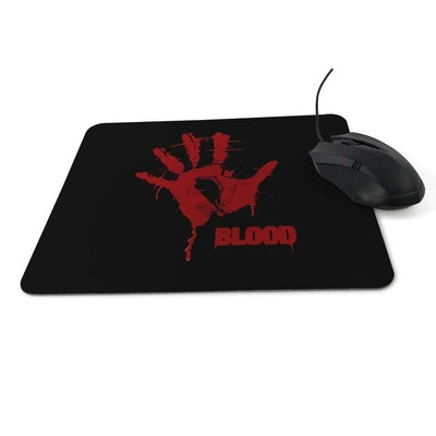 GeniusSo - Halloween themed bloody mouse pad