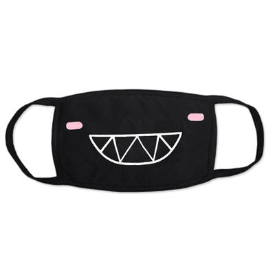 Anime Dustproof  Face Mask Cotton