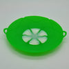 Silicone Lid Spill Stopper Kitchen Gadget - Red & Green - GeniusSo - Genius Shopping Online