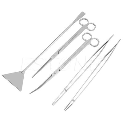 3/5pcs Aquarium Maintenance Tools Kit - GeniusSo