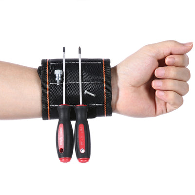 Magnetic Wristband for Holding Screws - GeniusSo