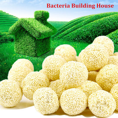 10pcs Ceramic Biochemical Ball for Aquarium Filter - GeniusSo