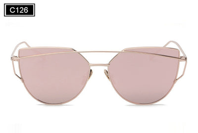 New Fashion Women Sunglasses Vintage Cat Eye - GeniusSo