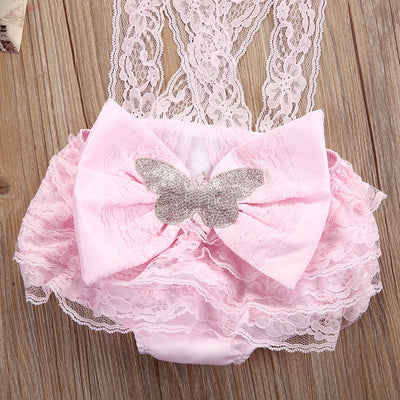 GeniusSo - adorable baby girl dress romper