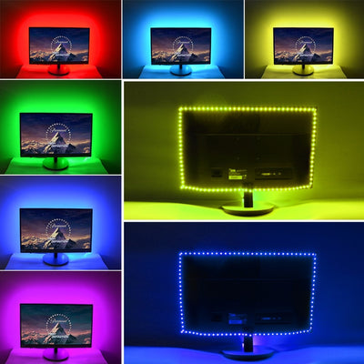 TV Backlight RGB LED Waterproof Strip - GeniusSo
