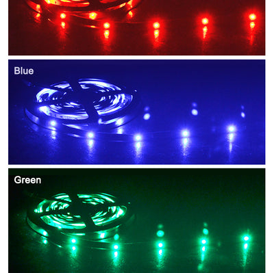 Color Changing LED Strip with Remote Control (5 meters) - GeniusSo