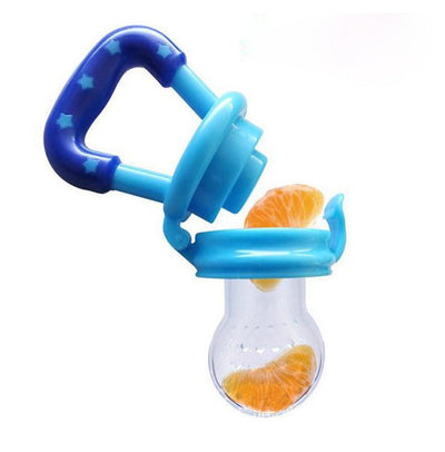 GeniusSo - Silicone pacifier feeder nibbler teether