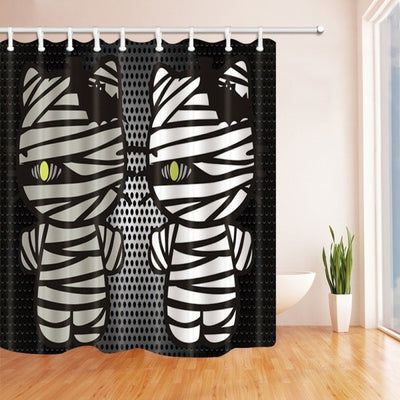 Halloween Bloody Shower Curtain - Various Designs - GeniusSo - Genius Shopping Online