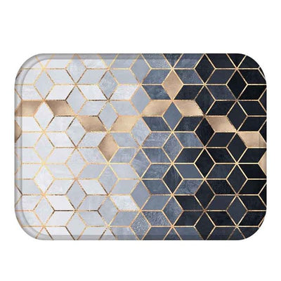 Geometric Pattern Anti-Slip Carpet Doormats 40*60cm - GeniusSo