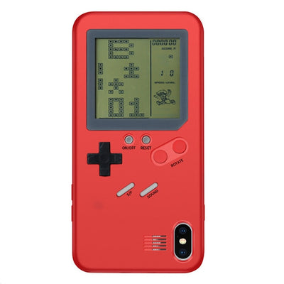 Old-school Retro Gameboy Tetris Phone Cases For iPhone 6 6S 7 8 X - Various Colours