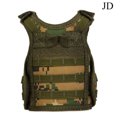 GeniusSo - Beer Bottle Cooler Army Vest