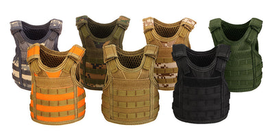 Miniature Army Hunting Vests Beverage Cooler With Adjustable Shoulder Straps - GeniusSo - Genius Shopping Online