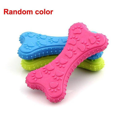 Cute Rubber Clean Teeth Chew Training Toy For Dogs - GeniusSo